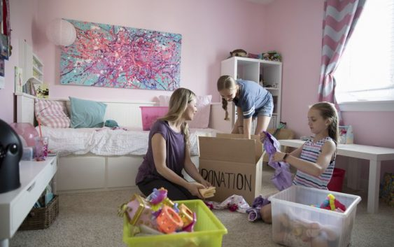 Identify extra storage space in your home